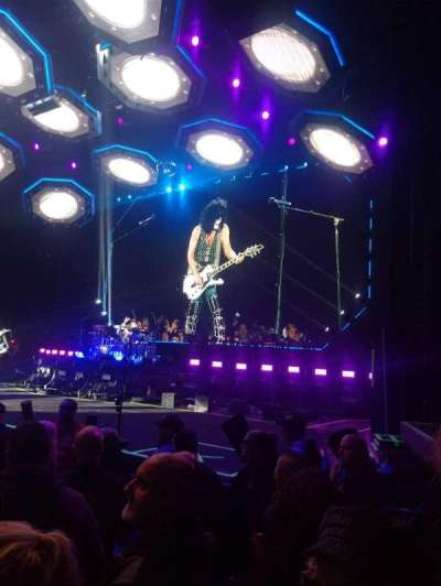 DTE Energy Music Theater, section: Rtctr, row: F, seat: 14