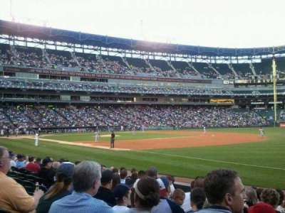 U.S. Cellular Field, section: 117, row: 10, seat: 6