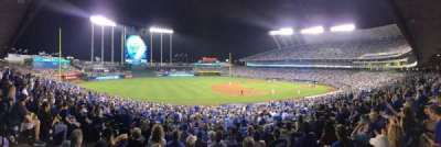 Kauffman Stadium, section: Dugout Plaza 216, row: HH, seat: 5