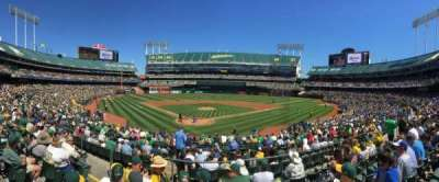 Oakland Alameda Coliseum, section: Field Infield 116, row: 26, seat: 16