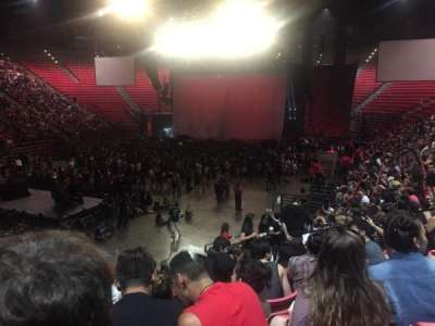 Viejas Arena, section: C, row: 16, seat: 8