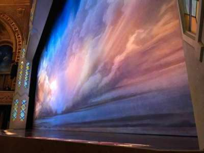 Eugene O'Neill Theatre, section: Orchestra Right, row: A, seat: 10