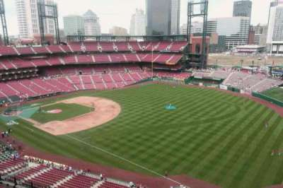 Busch Stadium, section: 433, row: 10, seat: 3