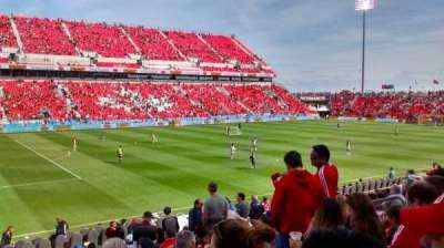 BMO Field, section: 126, row: 12, seat: 14
