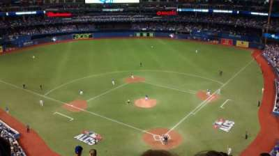 Rogers Centre, section: 525, row: 9, seat: 110