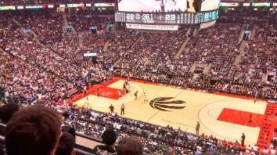 Air Canada Centre, section: 320, row: 4, seat: 7