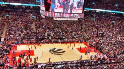 Air Canada Centre, section: 322, row: 6, seat: 8