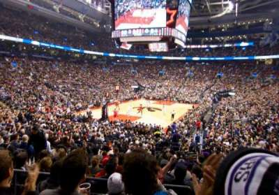Air Canada Centre, section: 112, row: 20, seat: 16