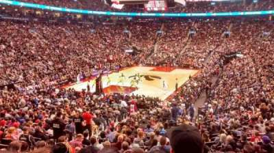 Air Canada Centre, section: 112, row: 23, seat: 10