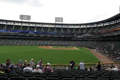 Guaranteed Rate Field section 158