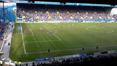 Hillsborough Stadium, section: Grandstand M5, row: A, seat: 10