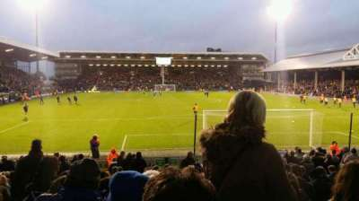 Craven Cottage, section: P4, row: W, seat: 90