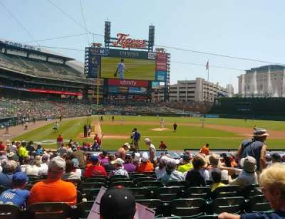Comerica Park, section: 124, row: 26, seat: 6