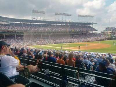 Wrigley Field, section: 236, row: 2, seat: 108