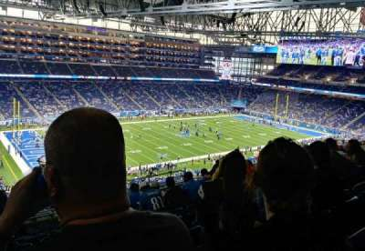 Ford Field section 326
