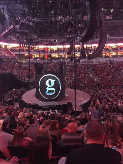 KFC Yum! Center, section: 118, row: AA, seat: 7