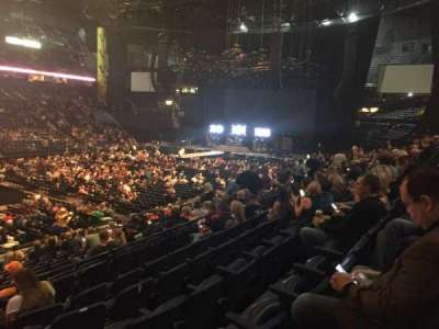 Bridgestone Arena, section: 104, row: F, seat: 22