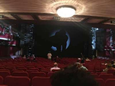 Broadway Theatre - 53rd Street, section: Orchestra L, row: U, seat: 12