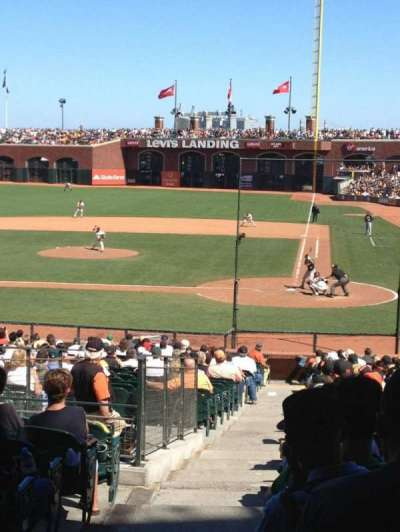 AT&T Park, section: 119, row: 32, seat: 16