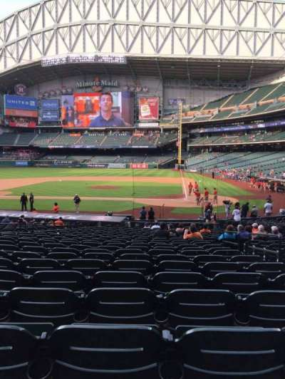Minute Maid Park, section: 116, row: 27, seat: 12