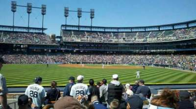 Comerica Park section 149