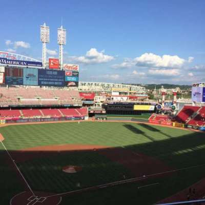 Great American Ball Park, section: 426, row: B, seat: 5