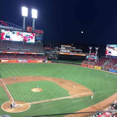 Great American Ball Park, section: 426, row: C, seat: 5