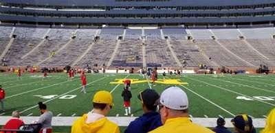 Michigan Stadium section 1