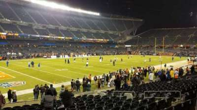 Soldier Field, section: 115, row: 14, seat: 8