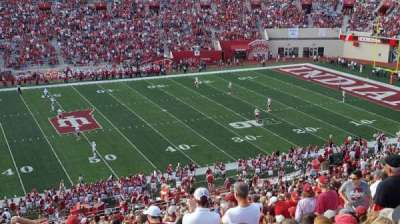 Memorial Stadium (Indiana), section: 28, row: 67, seat: 14