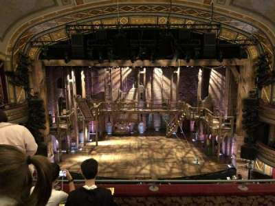 Richard Rodgers Theatre, section: FMEZZ, row: D, seat: 108