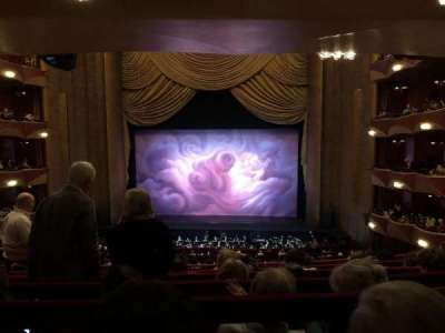 Metropolitan Opera House - Lincoln Center section Grand Tier