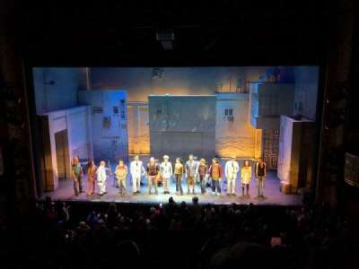 Ethel Barrymore Theatre section Front Mezzanine C