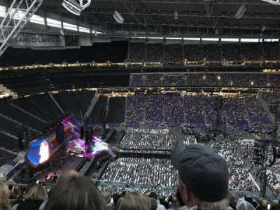 U.S. Bank Stadium, section: 341, row: 14, seat: 23
