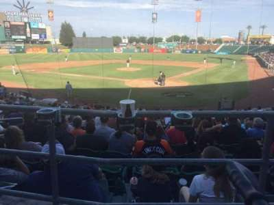 Chukchansi Park, section: 113, row: 18, seat: 8