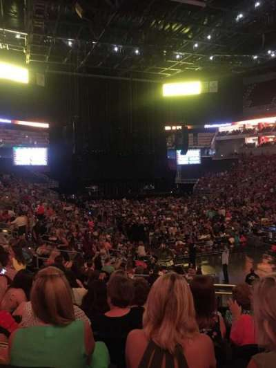 KFC Yum! Center, section: 113, row: U, seat: 6
