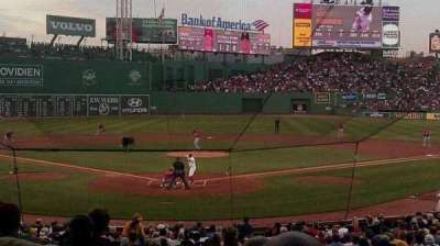 Fenway Park, section: Loge Box 130, row: MM, seat: 11