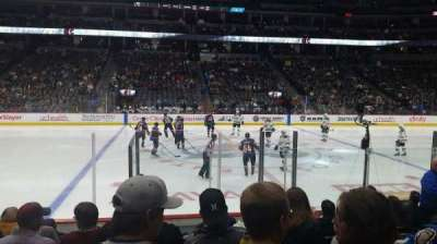 Pepsi Center, section: 126, row: 9, seat: 8