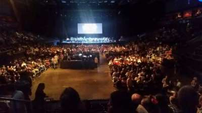 1stBank Center, section: 120, row: 12, seat: 20