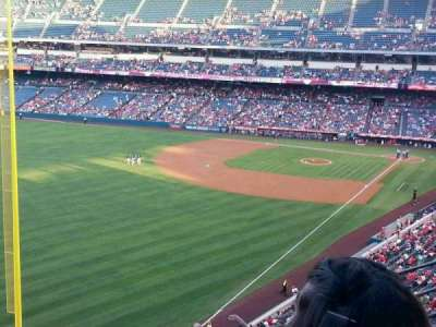 Angel Stadium, section: V404, row: F, seat: 7