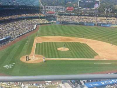 Dodger Stadium section 8RS