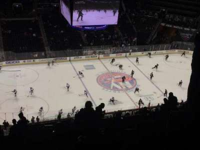 Barclays Center, section: 210, row: 18, seat: 3