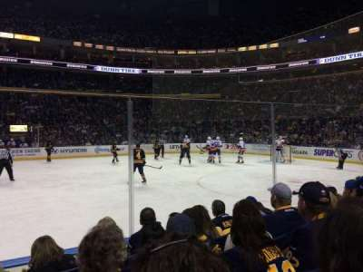 First Niagara Center, section: 116, row: 4, seat: 22