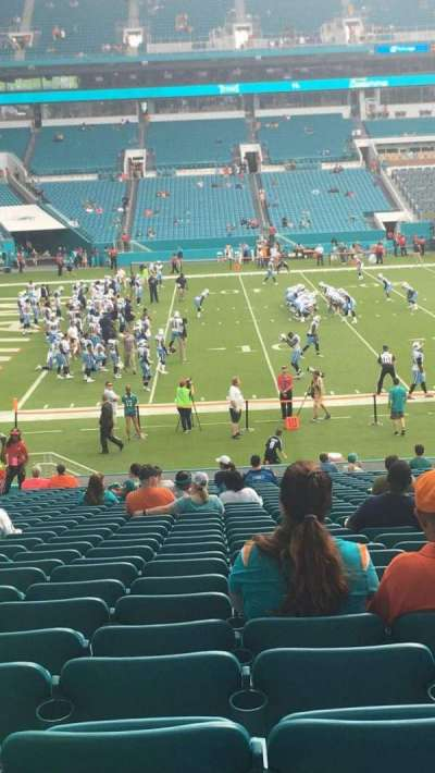 Hard Rock Stadium, section: 121, row: 30, seat: 18
