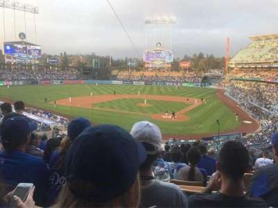 Dodger Stadium, section: 111LG, row: L, seat: 4