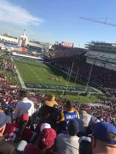 Los Angeles Memorial Coliseum, section: 215, row: 21, seat: 39