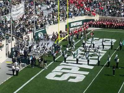 Spartan Stadium section c10