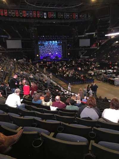 Nationwide Arena, section: 111, row: U, seat: 8