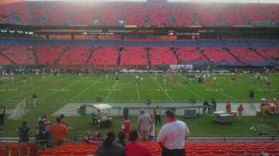 Hard Rock Stadium section 116