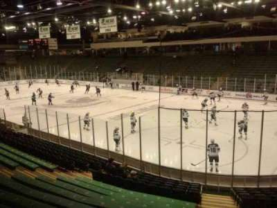 Munn Ice Arena, section: h, row: 15, seat: 4